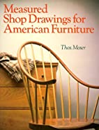 Measured Shop Drawings for American…