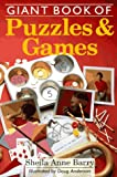 Barry, Sheila Anne: Giant Book of Puzzles & Games