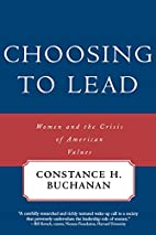 Choosing to Lead: Women and the Crisis of…