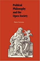 Political Philosophy and the Open Society by…
