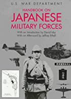 Handbook on Japanese Military Forces by U.…