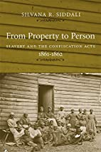 From Property To Person: Slavery And The…