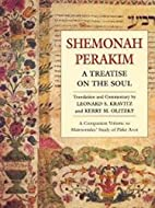 Shemonah Perakim: A Treatise on the Soul by…