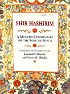 Shir Hashirim: A Modern Commentary on the…