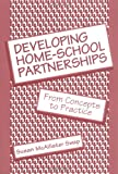 Swap, Susan McAllister: Developing Home-School Partnerships: From Concepts to Practice