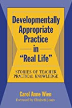 Developmentally Appropriate Practice in…