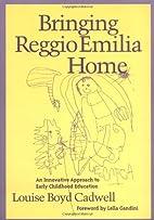 Bringing Reggio Emilia Home: An Innovative…