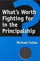 What's Worth Fighting for in the…