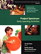 Project Spectrum: Early Learning Activities…
