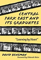 Central Park East and Its Graduates:…