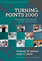 Turning Points 2000: Educating Adolescents…