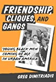 Dimitriadis, Greg: Friendship, Cliques, and Gangs: Young Black Men Coming of Age in Urban America