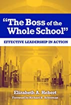 The Boss of the Whole School: Effective…