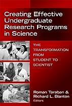 Creating Effective Undergraduate Research…