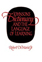 Johnson's Dictionary and the Language of…