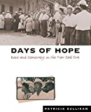 Sullivan, Patricia: Days of Hope: Race and Democracy in the New Deal Era