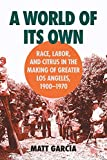 Garcia, Matt: A World of Its Own: Race, Labor and Citrus in the Making of Greater Los Angeles, 1900-1970