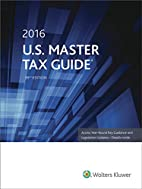 U.S. Master Tax Guide (2016) by Cch Tax Law…