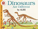 Aliki: Dinosaurs Are Different (Turtleback School & Library Binding Edition) (Let's Read-And-Find-Out Science)