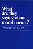 What Are They Saying About Moral Norms? by…