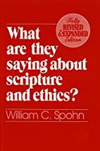What Are They Saying About Scripture and…