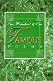 Cook, Roy Jay: 101 Famous Poems: With a Prose Supplement