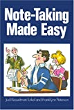 Kesselman-Turkel, Judi: Note-Taking Made Easy