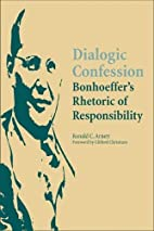 Dialogic Confession: Bonhoeffer's…