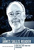 Sallis, James: A James Sallis Reader