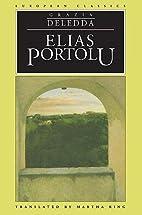 Elias Portolu by Grazia Deledda