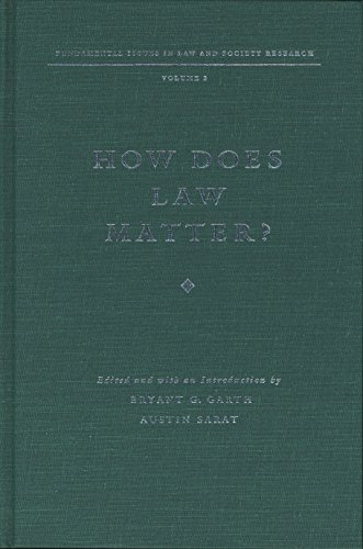 how-does-law-matter-fundamental-issues-in-law-and-society