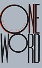 One Word by Marc J. Straus