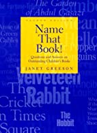 Name That Book! by Janet Greeson