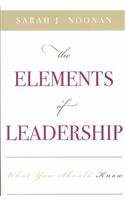 The Elements of Leadership : What You Should…