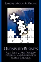 Unfinished business by Maurice Wheeler