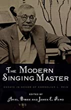 The Modern Singing Master: Essays in Honor…