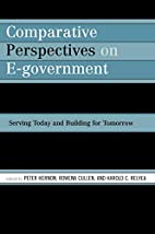 Comparative perspectives on e-government :…