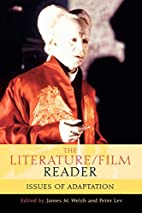 The Literature/Film Reader: Issues of…