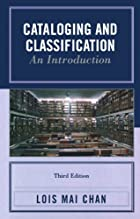 Cataloging and Classification: An&hellip;