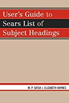 User's Guide to Sears List of Subject…