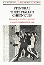 Three Italian Chronicles (Revived Modern…