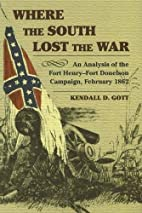 Where the South Lost the War: An Analysis of…