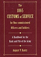 The 1865 customs of service for…