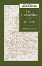 Who's Who in Early Hanoverian Britain,…