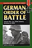Samuel W. Mitcham: German Order of Battle: 1st-290th Infantry Divisions in WWII v. 1
