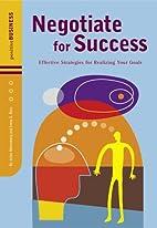 Negotiate for Success: Effective Strategies…