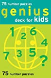 Chronicle Books Staff: Genius Deck Number Puzzles for Kids (Genius Decks)
