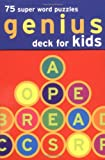 Chronicle Books Staff: Genius Deck Super Word Puzzles for Kids