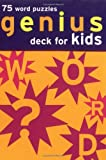 Chronicle Books Staff: Genius Deck Word Puzzles for Kids (Genius Decks)