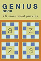 Genius Deck 75 More Word Puzzles (Genius…